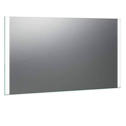 Spiegel ID Noemi Design: LED BADSPIEGEL mit Beleuchtung - nach Wunschmaß - Made in Germany - Auswahl: (Breite) 60 cm x (Höhe) 80 cm - Modell: 2203001