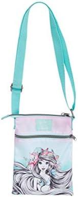 Disney The Little Mermaid Pink Mint Passport Crossbody Bag product image