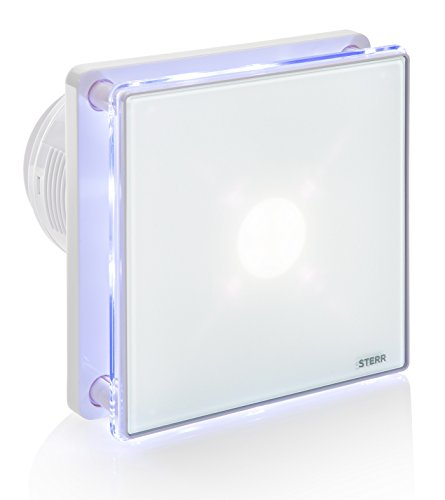 STERR - Bathroom Extractor Fan with LED Backlight 100 mm / 4' - BFS100L