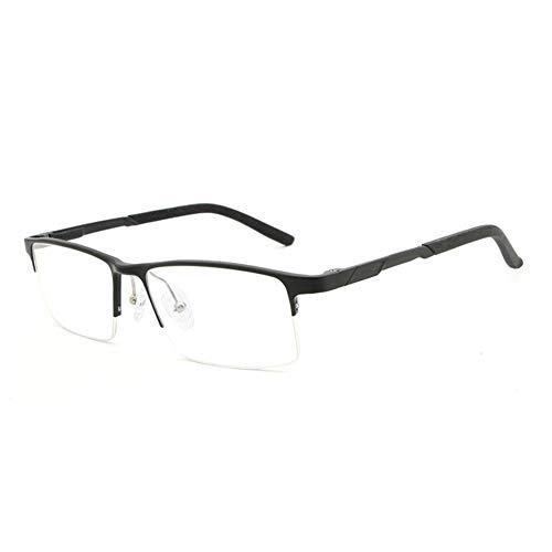 Mjd Sun Aluminum-magnesium ultra-licht blauw licht platte spiegel bril frame mode straat hipster mannen Zonnebril