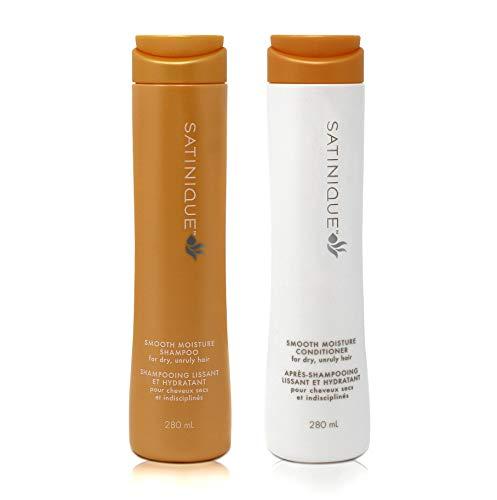 Shampooing Revitalisant et Baume Concentré doux et hydratant SATINIQUE Longue durée