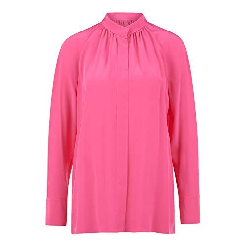BOSS Seidenbluse 'Besime' pink (679 Bright Pink) 40
