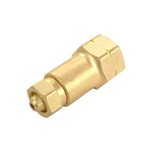 Western Enterprises 324 Brass Cylinder Adaptors, from CGA-200'MC' Acetylene to CGA-510 POL Acetylene