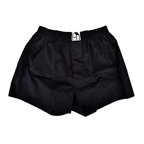 Cleptomanicx Plain black Boxershort Größe M