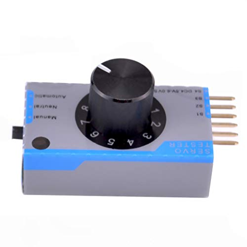 FPVDrone RC Servo Tester High Precision ECS Motor Servo Centering Tool for Remote Control Models RC Airplanes