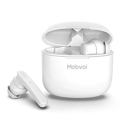 TicPods ANC Bluetooth 5.0 con cancelación Activa de Ruido, Auriculares Resistentes al Agua IPX5 con Auriculares inalámbricos, Auriculares con Control táctil