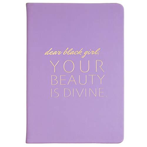 Caderno Eccolo Style Journal, 256 páginas pautadas, Thomas & Cocoa Dear Black Girl, 6x8