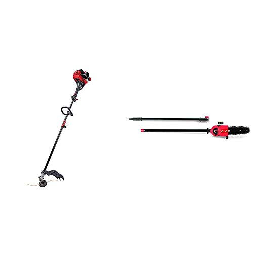 Best Price Craftsman CMXGTAMDAZ25 Straight Shaft Gas Trimmer and Pole Saw Attachment