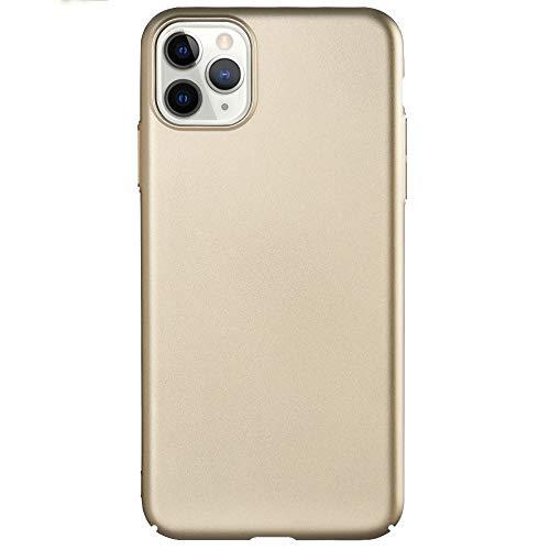 Xyamzhnn Caja del teléfono for el iPhone 11 Pro Series Leshield PC Ultra-Delgado (Color : Gold)