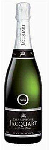 Blanc de Blancs Brut AOC 2009 in Geschenkverpackung Champagne Jacquart, trockener Jahrgangs-Champagner
