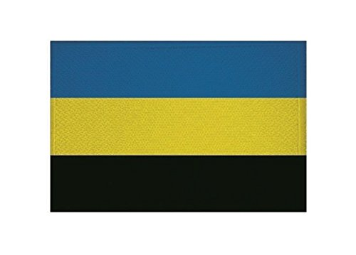 U24 applicatie Gelderland vlag opstrijkapplicatie 9 x 6 cm