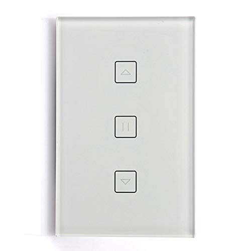 ACAMPTAR Vida Inteligente Interruptor de Cortina Wifi para Cortina Motorizada Eléctrica Persiana Enrollable Ciego Home Amazon Alexa Control de Voz