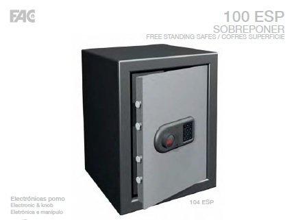 Cassaforte di applicare 103ESP orizzontale, non verticale Como en la foto) collezione esterni: altezza 380mm x ancho485mmx profunfo350mm 26kg, litri fac sicurezza