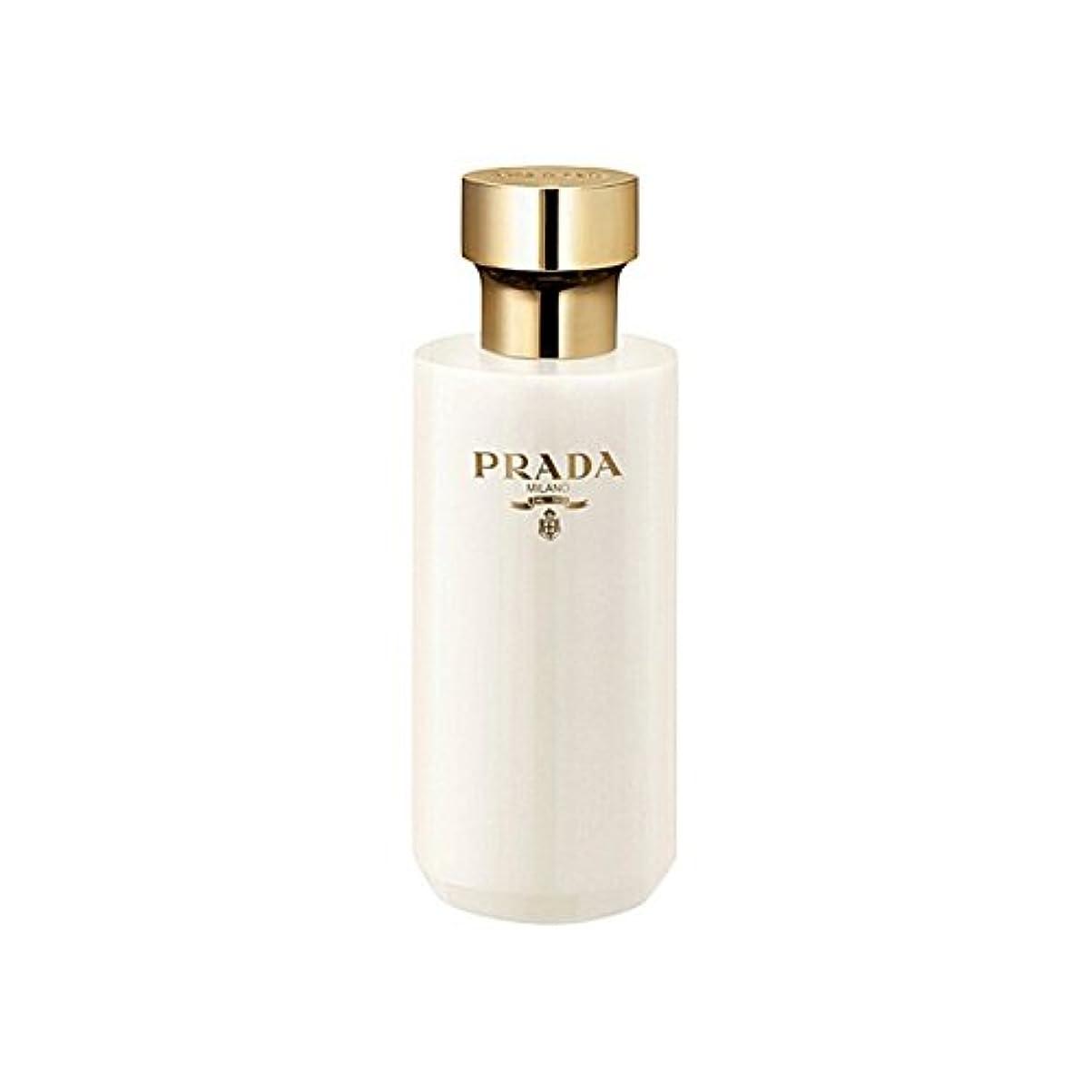 署名悲鳴タンカーPrada La Femme Shower Gel 200ml (Pack of 6) - プラダラファムシャワージェル200 x6 [並行輸入品]