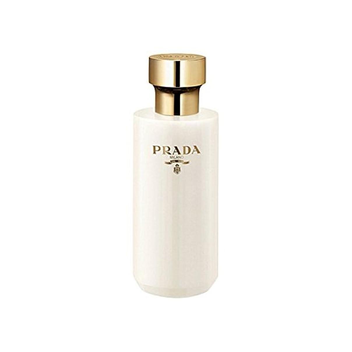 目を覚ますツールシプリーPrada La Femme Shower Gel 200ml (Pack of 6) - プラダラファムシャワージェル200 x6 [並行輸入品]