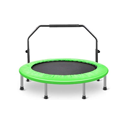 Fitness Trampoline for Adults, Portable Trampoline, adult Aerobic motion lose weight bounce Trampoline, On hips and legs muscle get on Dense training Rebounder Load: 400kg Best Aerobic Exercise Fitnes