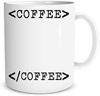 Coffee Break Html Code Coffee Tea Mug Computer Programmer Cup Computer Science Coffee Mug Perfect product image