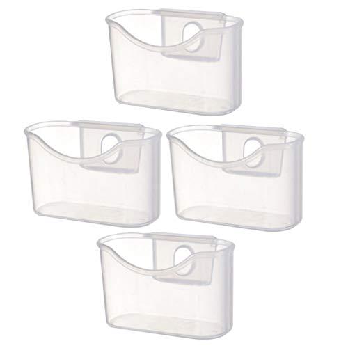 GARNECK 4 Unidades Nevera Caja Colgante Congelador Organizador Colgante Contenedores de Condimento Soporte de Paquete Refrigerador Estante Colgante para Condimentar Especias Bocadillos