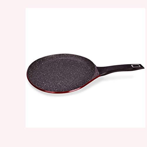XLEVE Aluminum Frying Pan – Pancake Pan Non-stick Pancake Pan Household Frying Pan Steak, Sandwich Cake, Curve Design, 28cm
