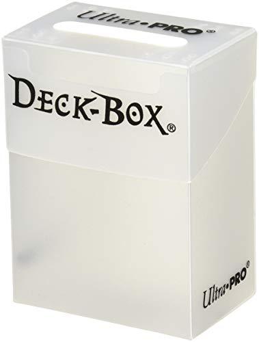 Ultra Pro Deck Box White w/Bag (81454) - Sammelkartenzubehör