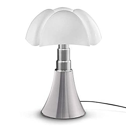 PIPISTRELLO-Lampe ampoules LED pied télescopique H66-86cm aluminium Martinelli Luce - designé par Gae Aulenti