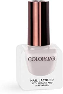 Colorbar Nail Lacquer with Keratin and Almond Oil, 12 ml Model (number/Name) 202 -Crepe