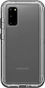 LifeProof Next Screenless Series Case for Samsung Galaxy S20 & S20 5G  NOT Plus Ultra or FE  Retail Packaging - Black Crystal