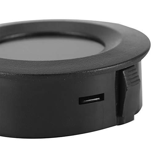 Liujaos Igrometro Digitale, igrometro da 2 Pezzi per Tester di umidità e Temperatura Mini igrometro per Ufficio a casa, Auto, scuole, Hotel