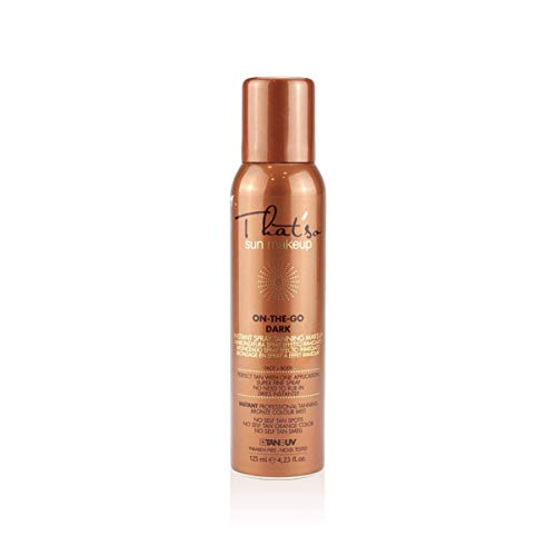 That'so On The Go Dark - Spray Autoabbronzante per Viso e Corpo, abbronzatura naturale bronzea - 125 Ml