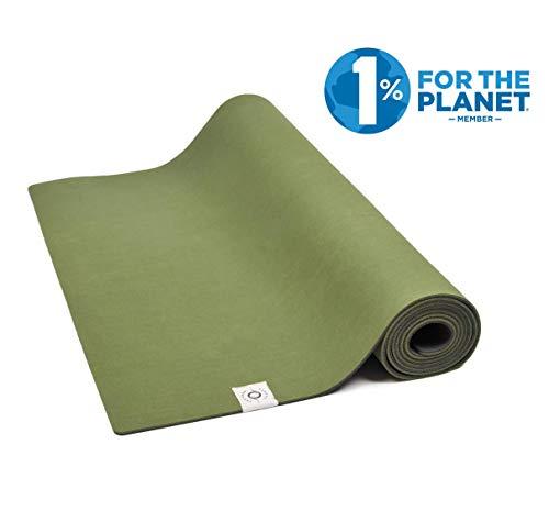 Southern Shores Yogamatte rutschfest aus Naturkautschuk - Ocean Mat | 100% natürlich & ökologisch | Profi Gymnastikmatte für Yoga und Pilates | 183 x 61 x 0,4 cm (Wald Grün)