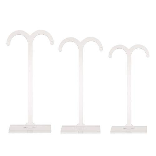 Preisvergleich Produktbild suoryisrty 3 Teile / Satz Ohrringe Regal Mode Ständer Halter Schmuck Display Rack Acryl Ohrstecker Schaufenster Professionelle Veranstalter Lampe Baum Fledermaus Dekoration B