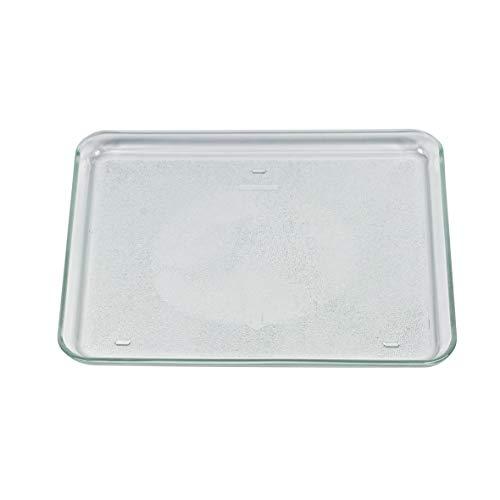 GAGGENAU 672497 00672497 ORIGINAL Glasschale Glasplatte Glasdrehteller Plattenteller rechteckig 341x266x23mm Mikrowelle Microwellengerät auch Bosch Siemens Balay Neff Constructa