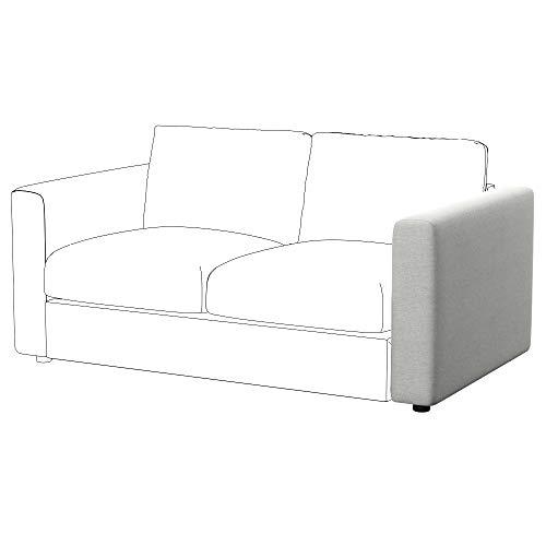 Soferia Funda de Repuesto para IKEA VIMLE apoyabrazo, Tela Classic Creme, Off-White