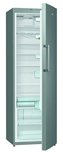 Gorenje R6192FX Kühlschrank / A++ / Höhe 185 cm / Kühlen: 368 L / Dynamic Cooling-Funktion / 7 Glasabstellflächen