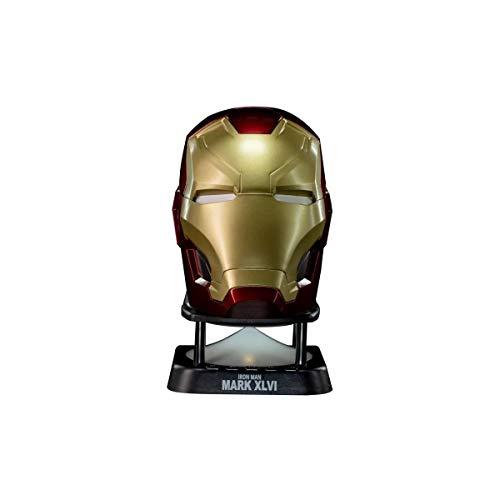 Marvel - Mini Enceinte Sans Fil - Iron Man - Casque Mark 46 - V2