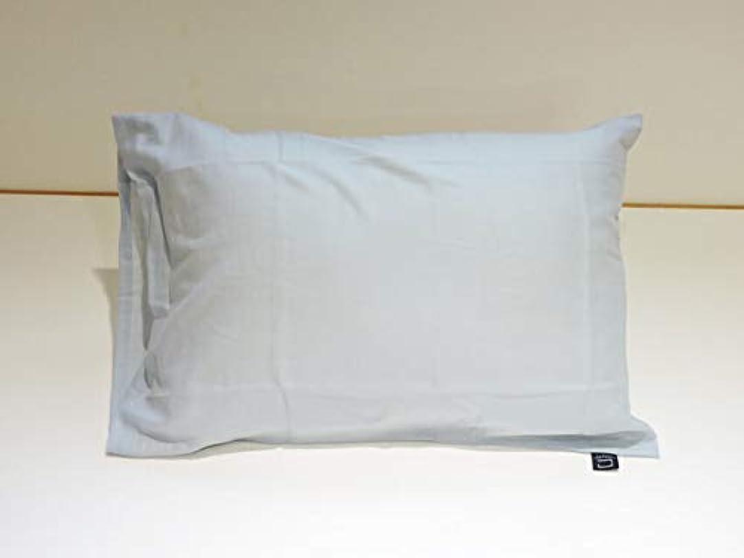 急勾配のスロー核まくらぼ 和晒 ひとえ ガーゼ ブルー 枕カバー 43×63cm 綿100% 日本製 ピロケース 枕 健康 フィットネス