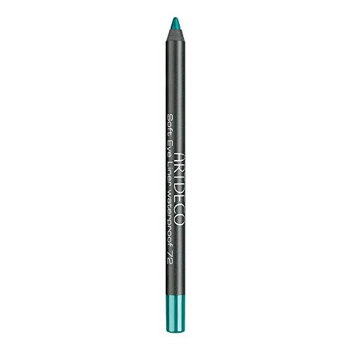 ARTDECO Soft Eyeliner Waterproof, Kajalstift grün, Nr. 72, green turquoise