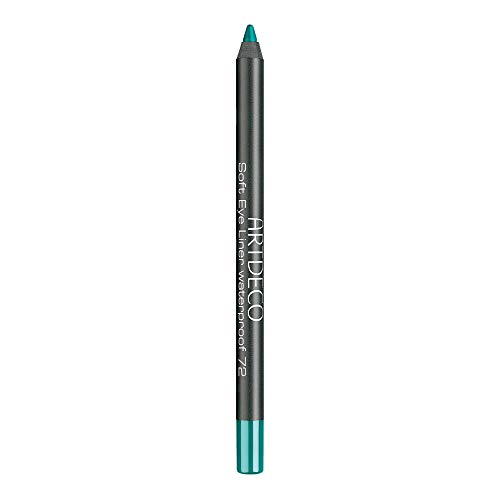 ARTDECO Soft Eye Liner Waterproof Kajalstift 72, Green Turquoise, 1.2 g