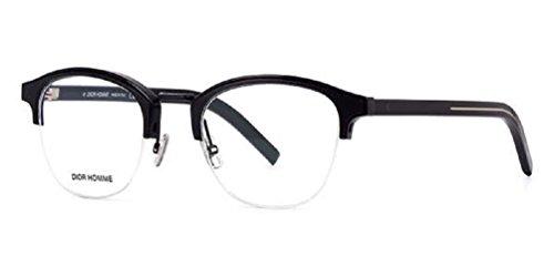 Dior Gafas de sol para hombres 48 mm Lazo negro