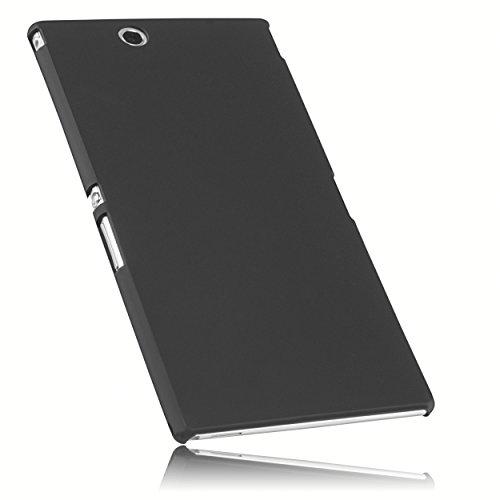 mumbi Hülle kompatibel mit Sony Xperia Z Ultra Handy Hard Case Handyhülle, schwarz