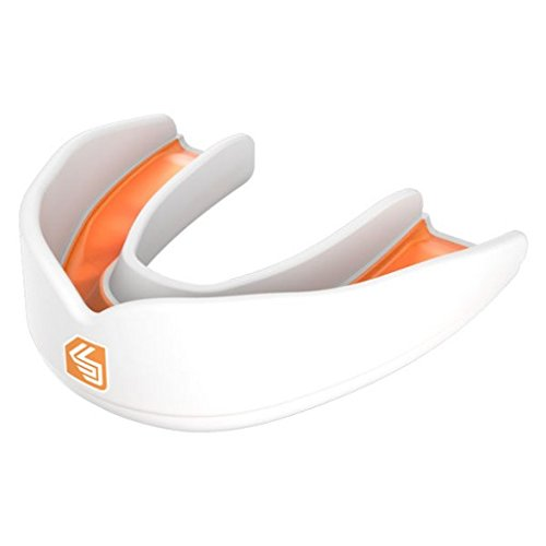 Shock Doctor Ultra Rugby Mouthguard Youths - White/Orange