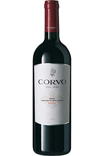 Corvo Rosso Sicilia IGP 2016 - Corvo - Duca di Salaparuta | trockener Rotwein | italienischer Wein aus Sizilien | 1 x 0,75 Liter
