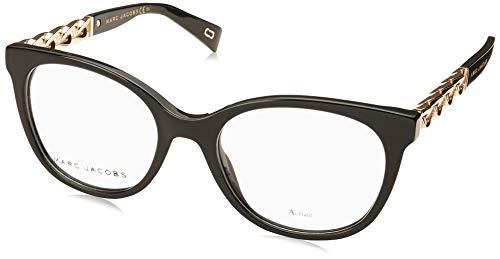 Marc Jacobs - Montura de gafas - para mujer Negro Glã¤nzend Schwarz - Gold 54