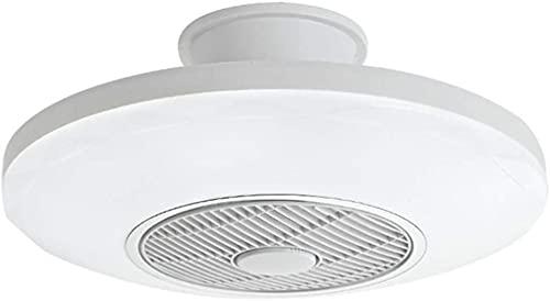 Ventiladores De Techo Con Luces 72W Luz De Techo Blanca Luz De Ventilador De 3 Velocidades Lámpara De Luz De Techo Led Con Control Remoto Ventilador Silencioso Regulable