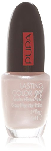 Pupa Lasting Color Gel 122 Like A Veil – Vernis effet verre – Glassy Effect Nail Polish