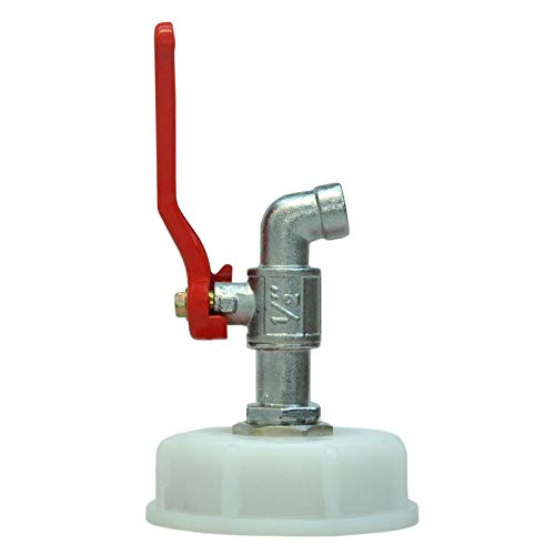 Metallhahn, Wasserhahn, Zapfhahn für Kanister DIN61