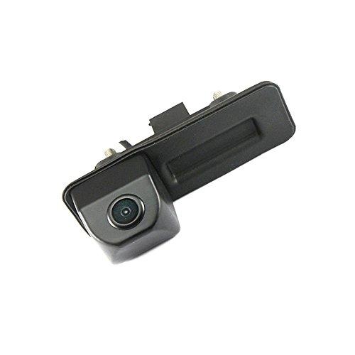 Kalakass cámara impermeable reversible del manillar del vehículo-específica integrada en la cámara trasera para VW Rapid Roomster Superb Cambi Yeti Fabia Y6 Octavia II 1Z5 A1 VW Golf 5 V