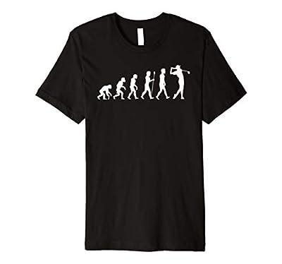 Golf Evolution of man golfing gag gift for men women kids Premium T-Shirt