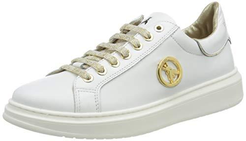 Patrizia Pepe PPJ521 Sneaker, White, 38/38.5 EU
