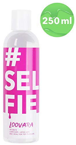 Loovara Selfie – medizinisches Gleitgel | ph-optimiert für die weibliche Intimflora | ideal für Selbstbefriedigung, Oralsex und Sex-Spielzeug | auf Wasserbasis, ohne Silikon | dermatologisch getestet